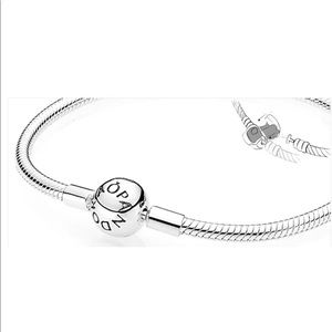 NEW 925 Silver Snake Chain Pandora Bangle